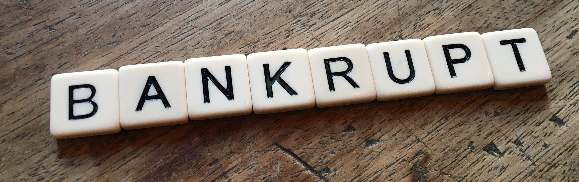 ryzyko kredytowe upadłość